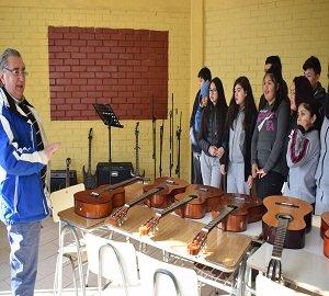 Nuevos instrumentos para el Liceo